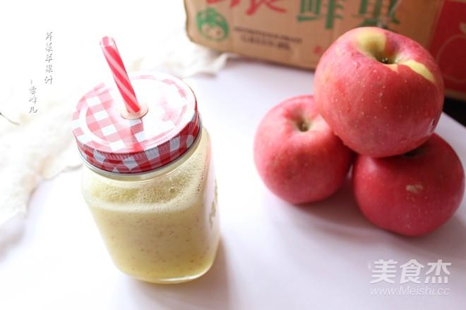苹果芹菜汁怎么炒