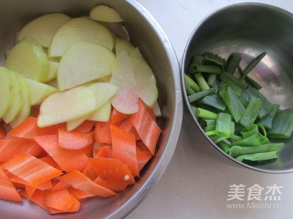 清炒胡萝卜土豆片的做法大全