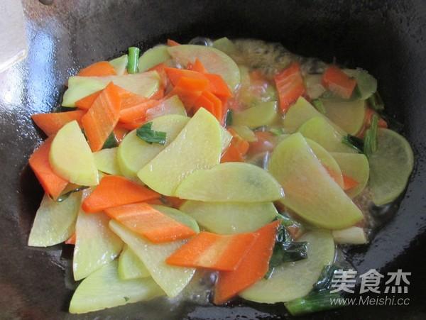 清炒胡萝卜土豆片怎么吃