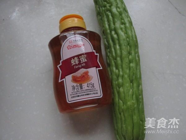 蜂蜜苦瓜-百花蜂蜜的做法大全