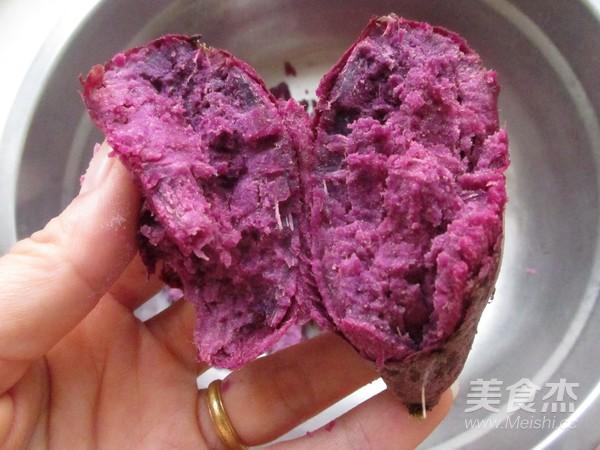 紫薯蛋黄酥的简单做法