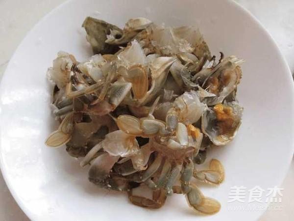 砂锅河蟹的简单做法