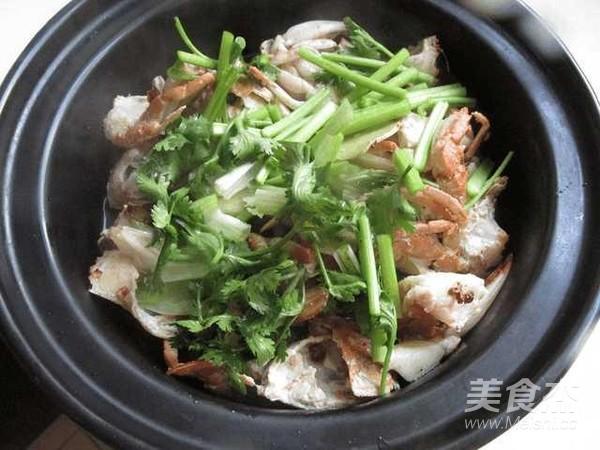 砂锅河蟹怎么炒