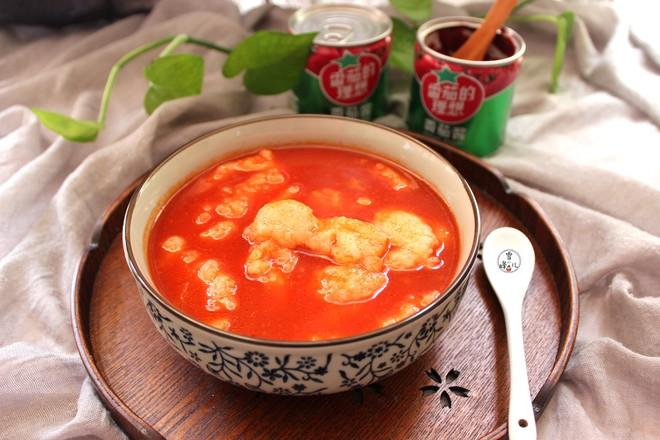 番茄鱼片成品图