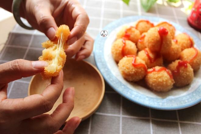 番茄土豆奶酪球成品图