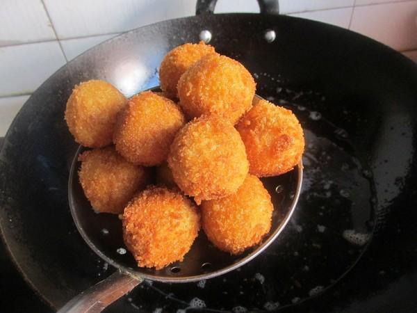 红薯奶酪球怎么煸
