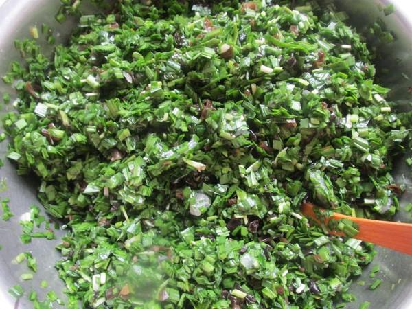 韭菜木耳素饺子怎么吃