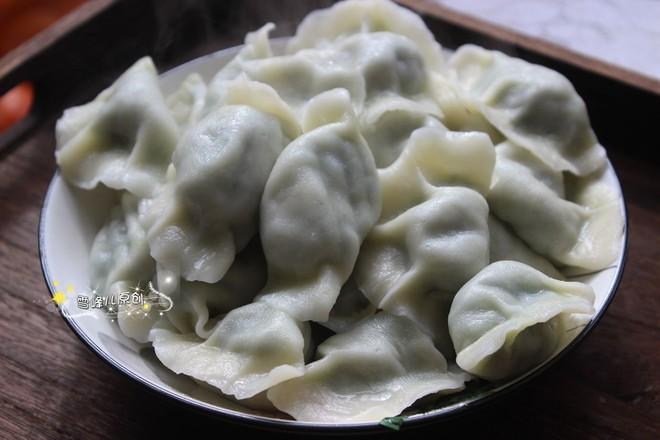 韭菜木耳素饺子怎么煸