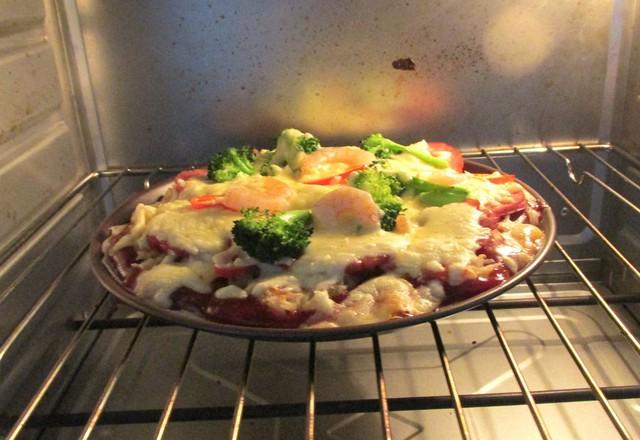 鲜虾披萨怎么做