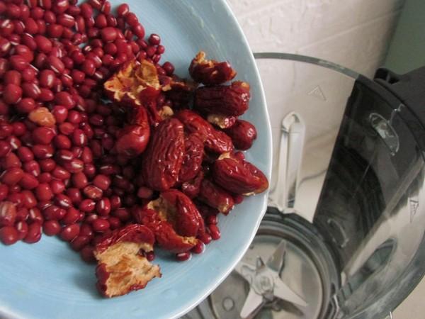 红豆麦米糊的做法图解