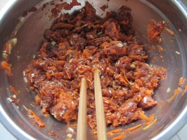 羊肉胡萝卜饺子的做法图解