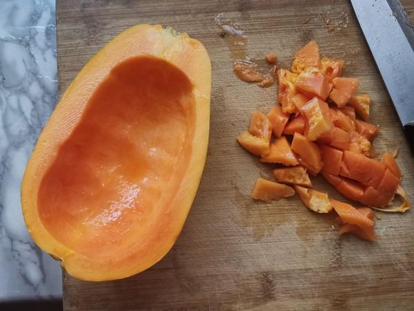 木瓜桃胶羹的做法大全