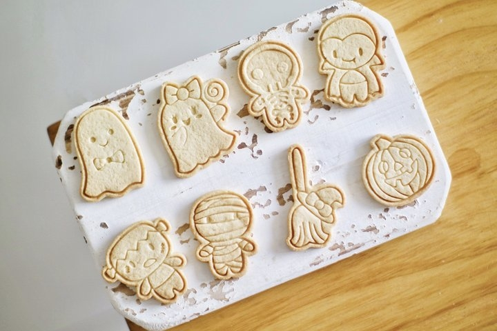 小朋友喜欢—小饼干成品图