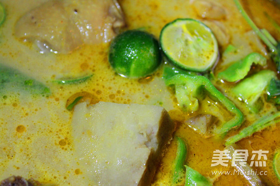 椰香芋头咖喱鸡怎么炒