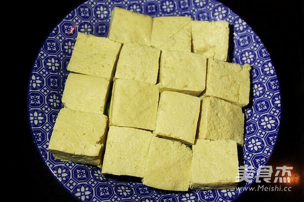 毛豆清蒸臭豆腐的家常做法