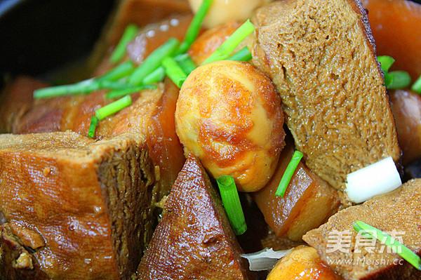 马桥豆干红烧肉怎么煸