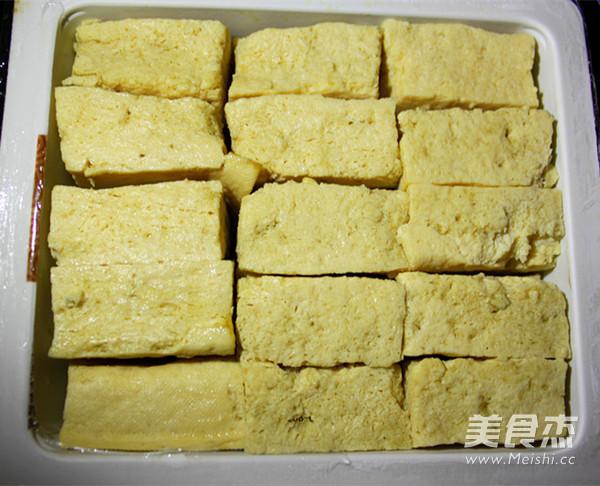毛豆清蒸臭豆腐的做法大全