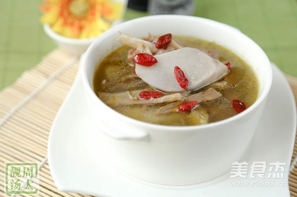 笋干老鸭芋艿汤怎么炒
