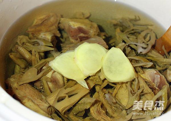 笋干老鸭芋艿汤的简单做法