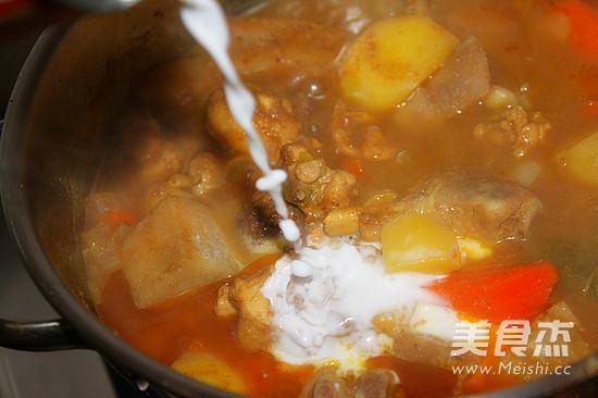 椰香芋头咖喱鸡怎么做