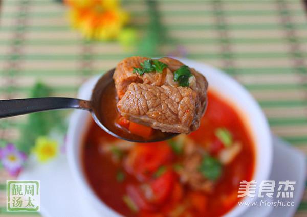 番茄咖喱炖牛腩怎样煸