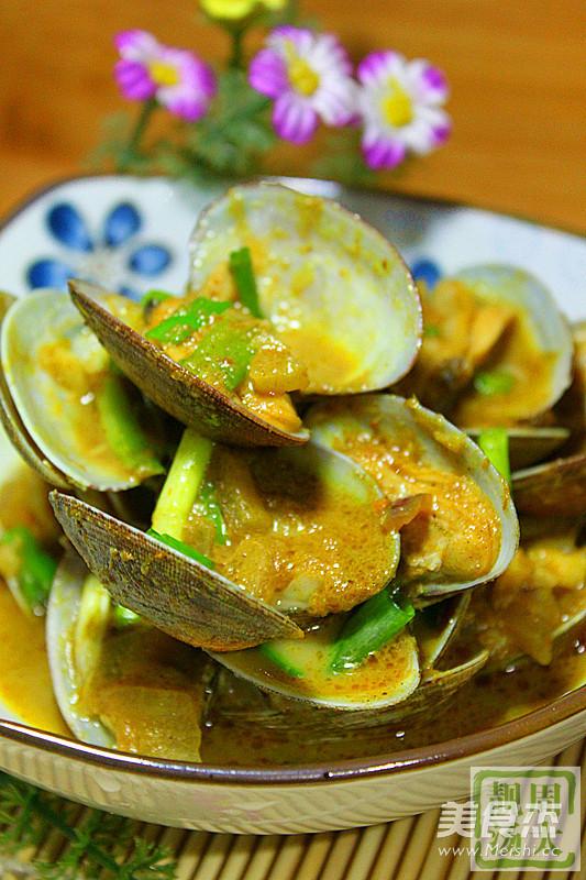 咖喱浓情蛤蜊怎么炒