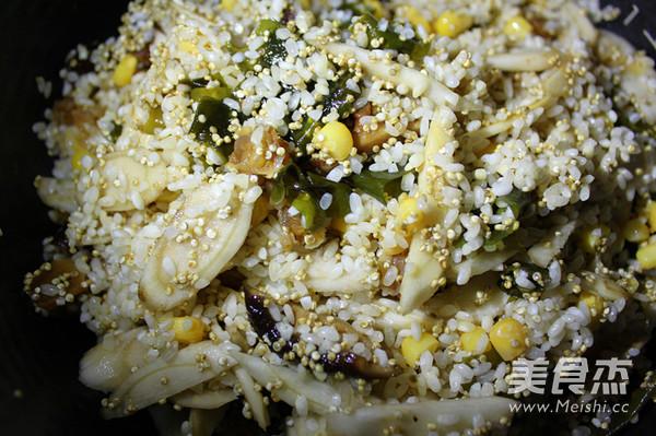海味藜麦焖饭怎么炒
