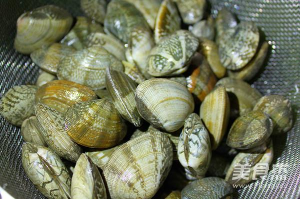 酒香紫苏炒蛤蜊的做法大全