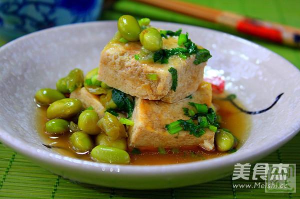 毛豆清蒸臭豆腐怎么炒