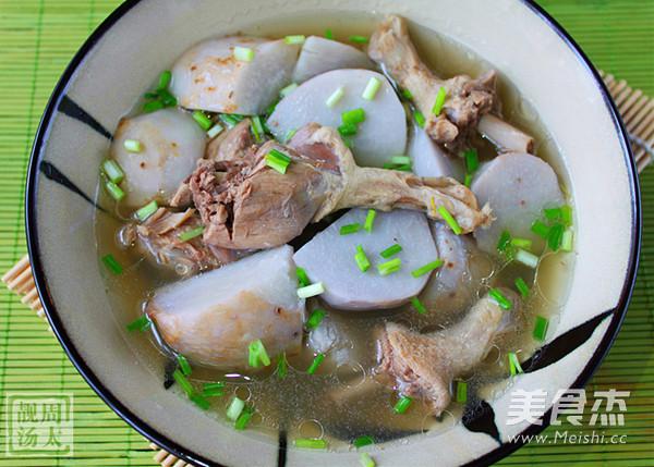 芋艿鸭肉汤怎么煮