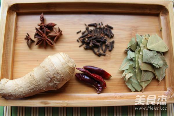 蜜汁粽香冰蹄的家常做法