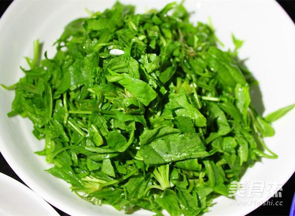 双菇荠菜豆腐羹的简单做法
