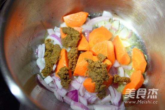 椰香芋头咖喱鸡的家常做法