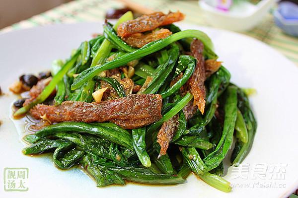 豆豉鲮鱼油麦菜怎么炒
