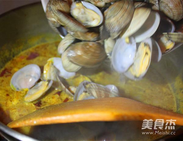 咖喱浓情蛤蜊怎么做