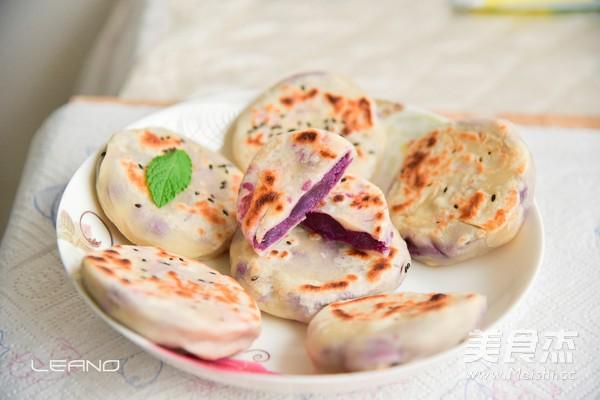 紫薯饼的做法图解