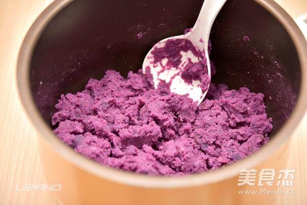 紫薯饼的做法大全