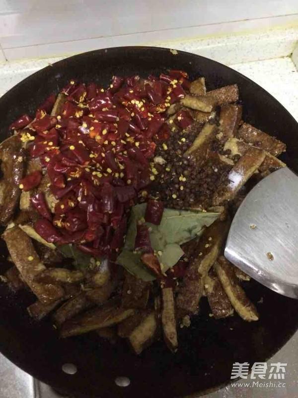 麻辣豆腐干的简单做法