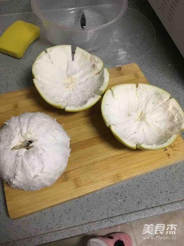 制作蜂蜜柚子茶的家常做法