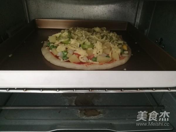 香肠披萨怎么煮