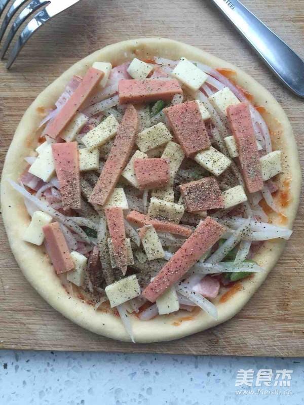 空气炸锅版土豆培根披萨怎么煮