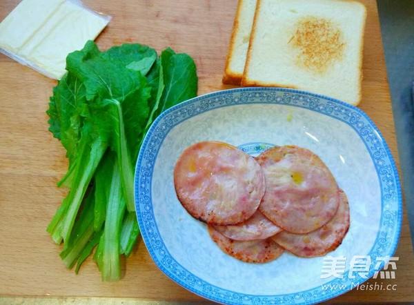 火腿三明治的简单做法