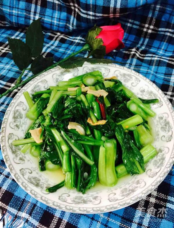 油渣油菜苔怎么做