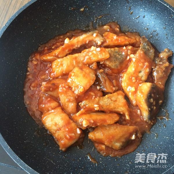 茄汁蒜香鱼块的简单做法