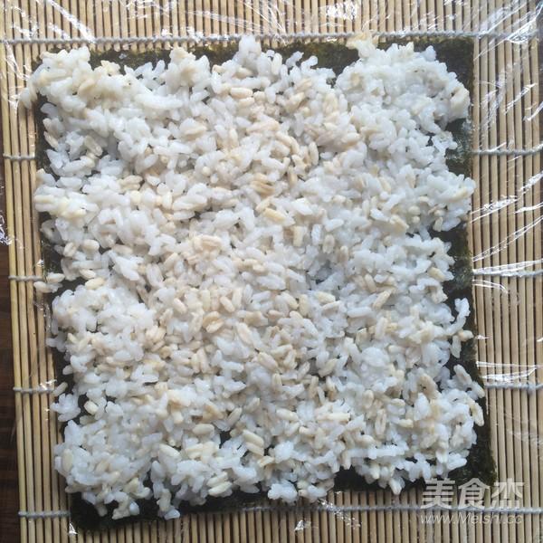 燕麦香米寿司怎么做