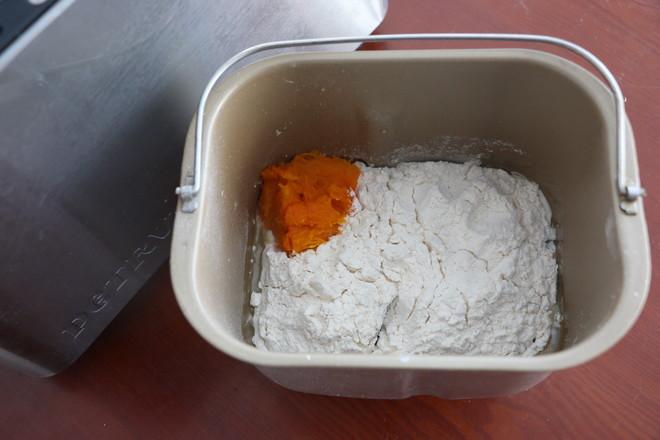 南瓜面包的做法图解