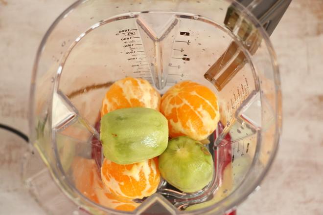 猕猴桃橙汁的家常做法
