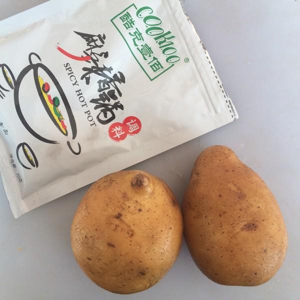 香辣土豆片的做法大全