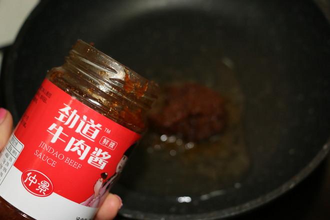 香菇牛肉酱米粉的简单做法