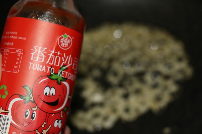 茄汁蒜香鸡块怎样煸